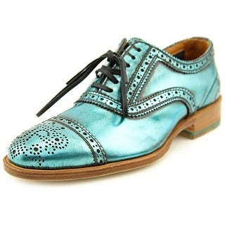 John Fluevog Brandenburg Cap Toe Leather Oxford