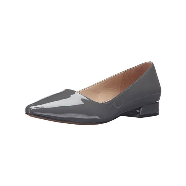 Franco Sarto Womens Saletha Flats Patent Pointed Toe