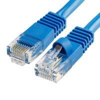 Cat5e Ethernet Network Patch Cable 350 MHz RJ45 - 7 Feet Blue