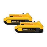 Battery for DEWALT DCB203 (2-Pack) Replacement Battery