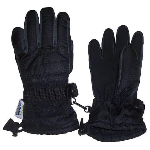 NICE CAPS Women's Thinsulate and Waterproof Premium Winter Ski Gloves