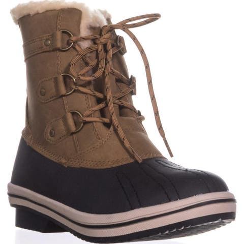 Pawz by Bearpaw Gina Cold-Weather Duck Boots, Hickory
