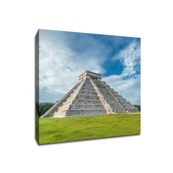 Temple of Kukulkan - Chichen Itza - Global Landmarks - 20x20 Canvas