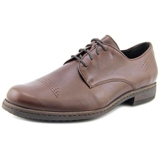 Josef Seibel Kevin 03 Men WW Round Toe Leather Brown Oxford