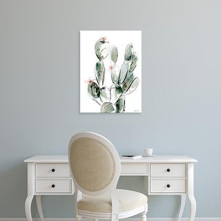 Easy Art Prints Green Lili's 'Prickly Pear' Premium Canvas Art