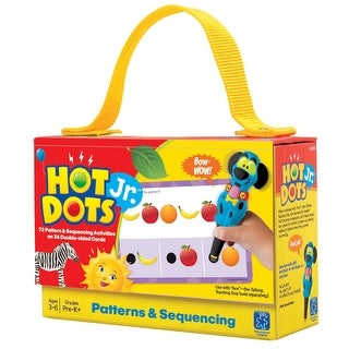 Educational Insights Hot Dots Jr Cards Kit, Patterns and Sequencing