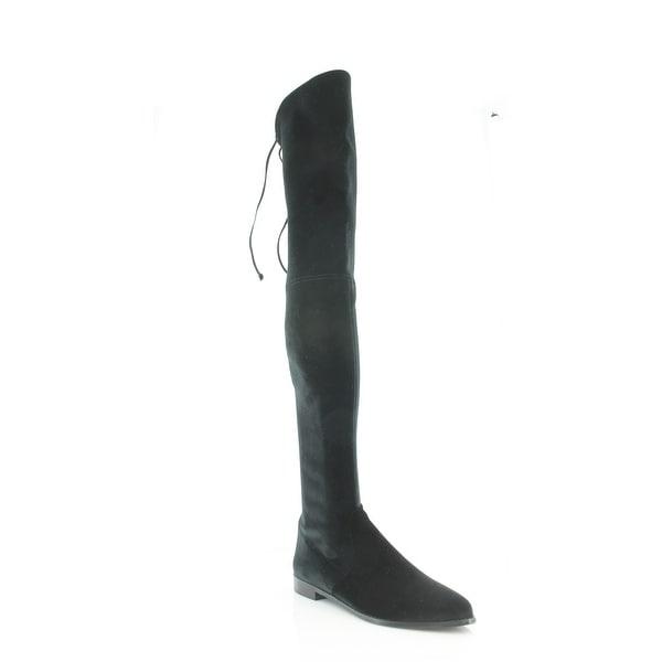 41e92b5fc84 Shop Stuart Weitzman LeggyLady Women s Boots Nero Stretch - 8.5 ...