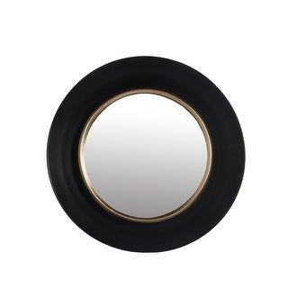 Small Black Black/Gold Wall Mirror