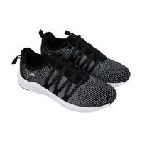 Puma Prowl Alt Knit Womens Black Mesh Athletic Lace Up Running Shoes