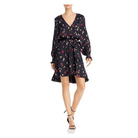 JOIE Black Long Sleeve Short Dress XS