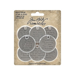 Th93691 Tim Holtz Idea Ology Quote Tokens