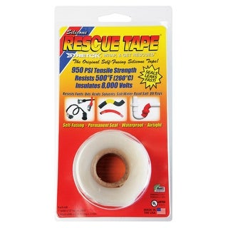 Rescue Tape RT1000201204USC Self-Fusing Repair Silicone Tape, 12""