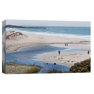 "PTM Images 9-102248  PTM Canvas Collection 8"" x 10"" - ""Big Sur 1"" Giclee Coastlines Art Print on Canvas"