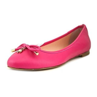 Kate Spade Willa Round Toe Synthetic Flats