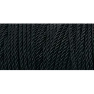 Iris 418079 Nylon Thread Size 18 197 Yards-Black