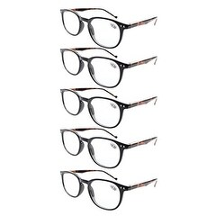 a0c21c6e16b Shop Eyekepper 5-Pack Spring Hinges 80 s Classic Reading Glasses+3.50 -  Free Shipping On Orders Over  45 - Overstock.com - 15946908