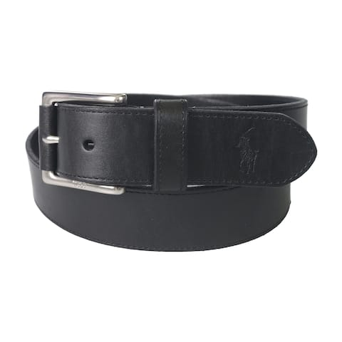 Ralph Lauren Mens Casual Leather Belt