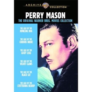 Perry Mason Mysteries: Warner Bros Movies Collection (3 Disc Set) DVD Movie 1934