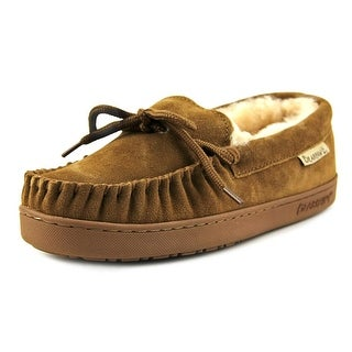 Bearpaw Moc Women Moc Toe Suede Brown Slipper