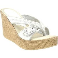 Sbicca Women's Horizon White Leather