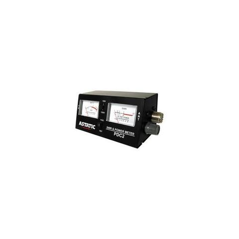 Astatic tm 302-pdc2 pdc2 swr power field strength test meter