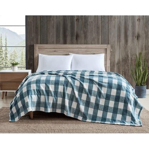 Eddie Bauer Ultra Soft Plush Bed Blanket
