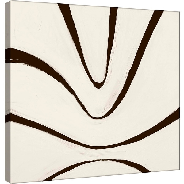 """PTM Images 9-100892 PTM Canvas Collection 12"""" x 12"""" - """"Sepia B"""" Giclee Abstract Art Print on Canvas"""