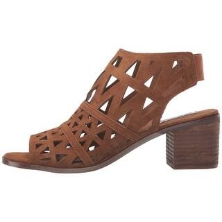 Steve Madden Womens ESTEE Open Toe Casual Slingback Sandals