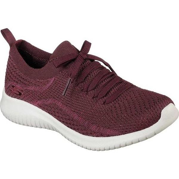 Ultra Flex Sneaker Burgundy