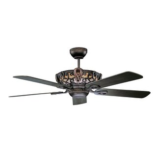 """Concord 52AC5 52"""" 5 Blade Ceiling Fan with Blades from the Aracruz Collection"""
