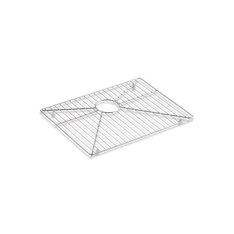 "Kohler Undertone? Preserve? Stainless Steel Sink Rack, 21-1/8"" X 15-3/4"" Sinks Stainless Steel (K-6391-St)"