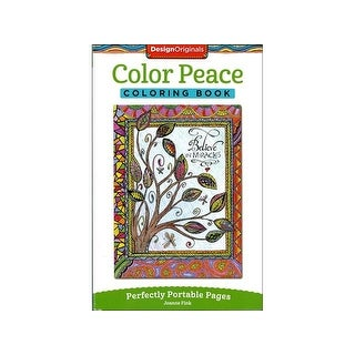 Design Originals Color Peace Coloring Bk
