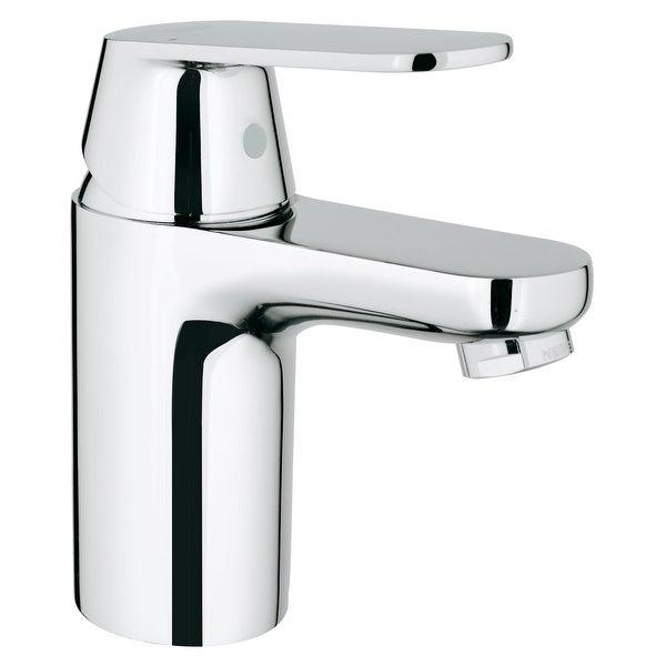 Grohe 32 877 A Eurosmart 1.2 GPM Cosmopolitan Single Hole Bathroom Faucet with SilkMove Handle - Starlight Chrome