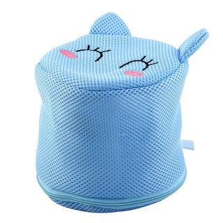 Home Polyester Clothes Underwear Lingerie Sock Holder Washing Cleaning Mesh Bag