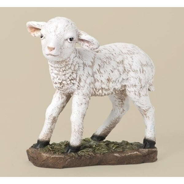 "39"" Joseph's Studio Standing Lamb Religious Outdoor Christmas Nativity Statue"