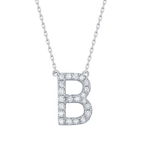 Smiling Rocks My Type Collection 0.28Ct G-H/VS1 Lab Grown Diamond Necklace