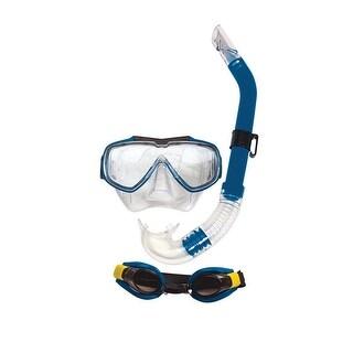 Blue Aqua Islander Adult Scuba Gear Combo Pack