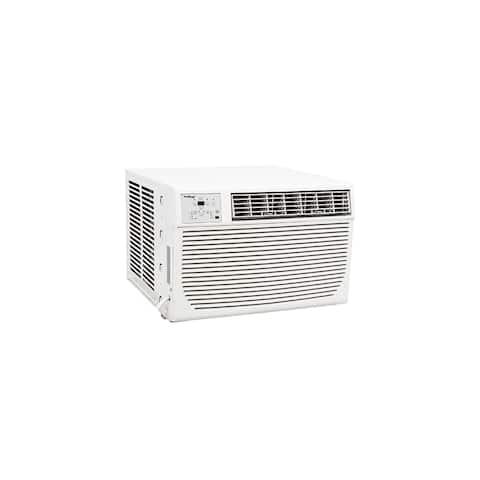 Koldfront WAC12001W 12000 BTU 208/230V Window Air Conditioner with 11000 BTU Heater and Remote - White
