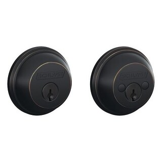 Schlage B62 Double Cylinder Grade 1 Deadbolt from the B-Series