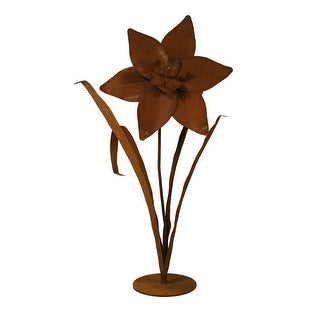 Patina Products S678 Large Daffodil Garden Sculpture - Cassidy