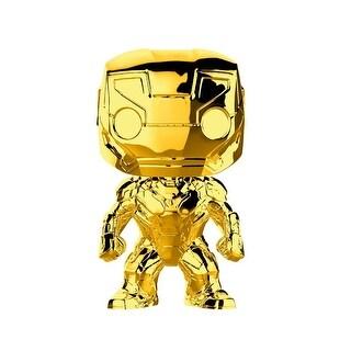 "FunKo POP! Marvel Studios 10 Gold Iron Man 3.75"" Vinyl Figure - multi"