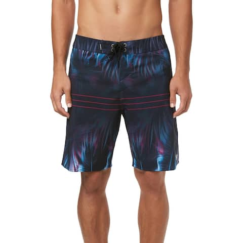 O'Neill Superfreak Mens Hallucination Print Above Knee Board Shorts
