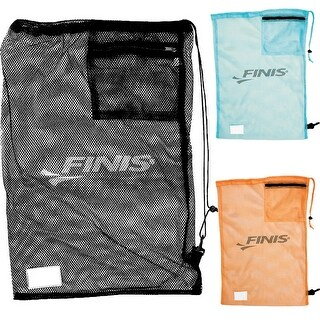 FINIS Durable Nylon Mesh Drawstring Swim Gear Bag