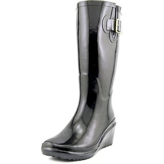 Giani Bernini Alley Women Round Toe Synthetic Rain Boot