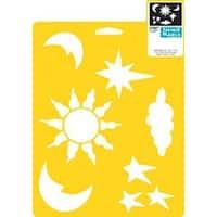"""Celestial - Stencil Mania Stencil 7""""X10"""""""