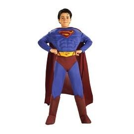 Superman Returns Boys Costume, Small (4-6)