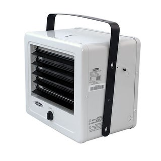 Soleus HI1-50-03 5,000 Watt Electric Garage Heater - White