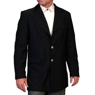 Scully Western Coat Mens Old West Classic Button Front Polyester RW200