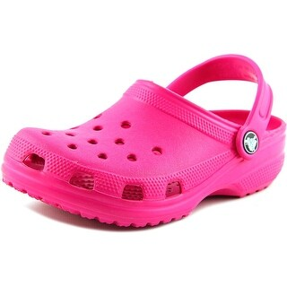 Crocs Classic Clog K Round Toe Synthetic Clogs