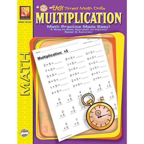 Multiplication Easy Timed Math Drills